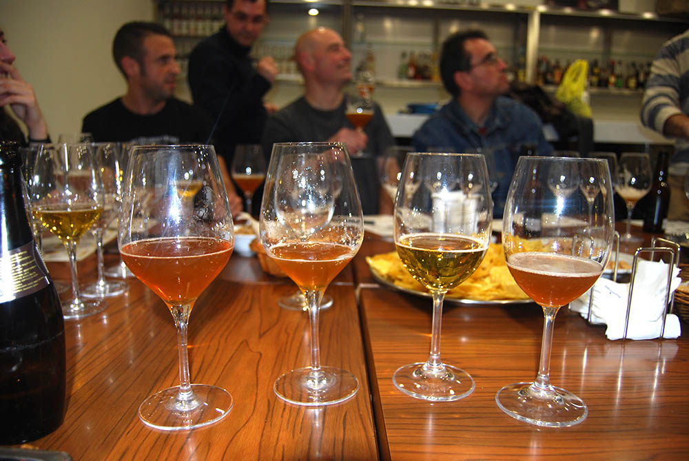 Beer-tasting-english-inmersion-ingles-asturias