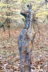 Escultura de Carmen Castillo en Bosque Escondido Arte