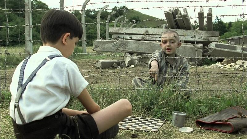 Imagen de la película El niño con el Pijama de Rayas