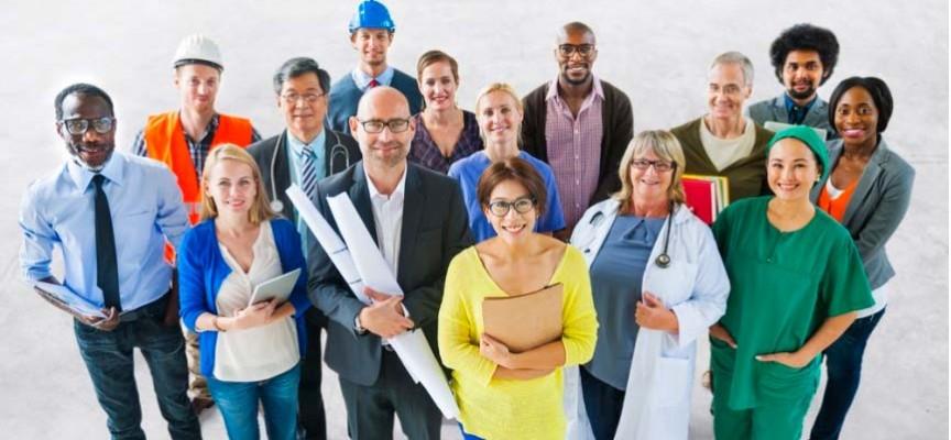 Imagen de profesionales de distintos sectores