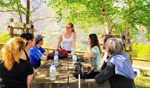 Actividad en grupo al aire libre