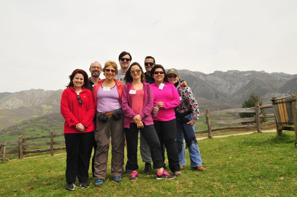Foto de grupo en una de nuestras escapadas inglesas de fin de semana