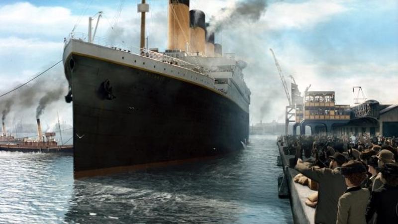 expresiones en inglés de la película Titanic