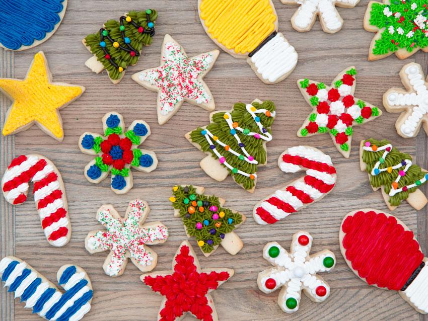 Foto de cookies de azucar decoradas