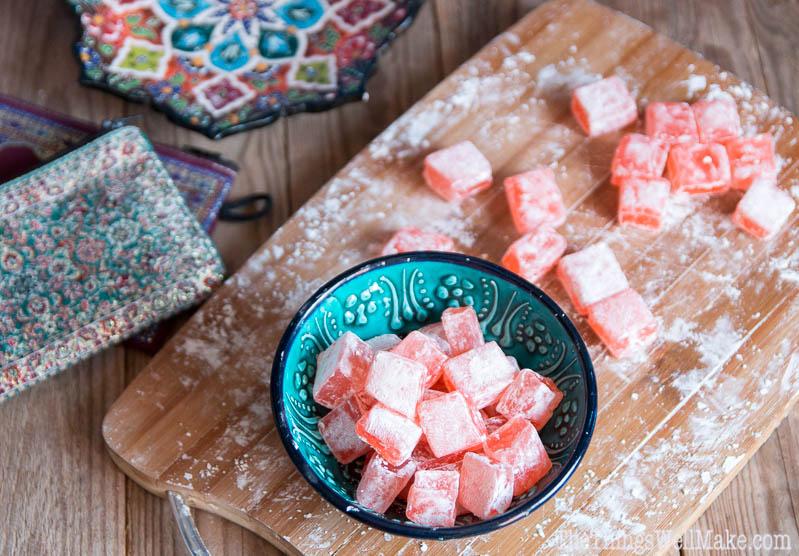 Foto de las delicias turcas