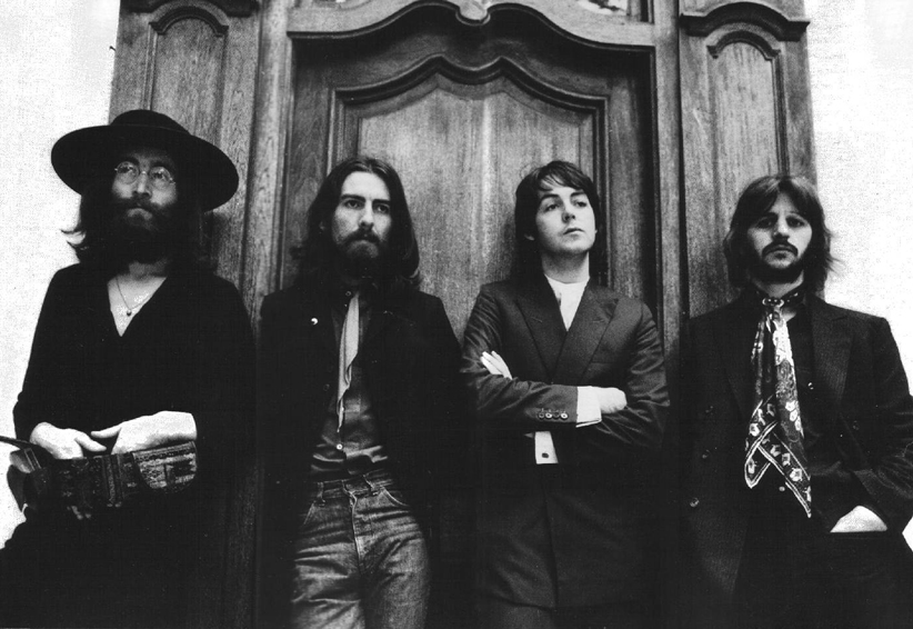 Fotografía de los beatles, escritores de la cancion del post