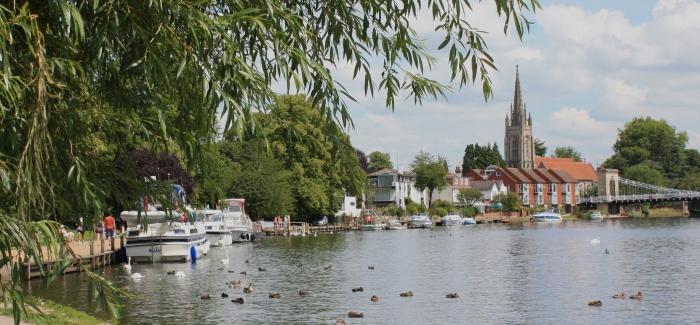 Fotografía de Marlow, en el Thames Path