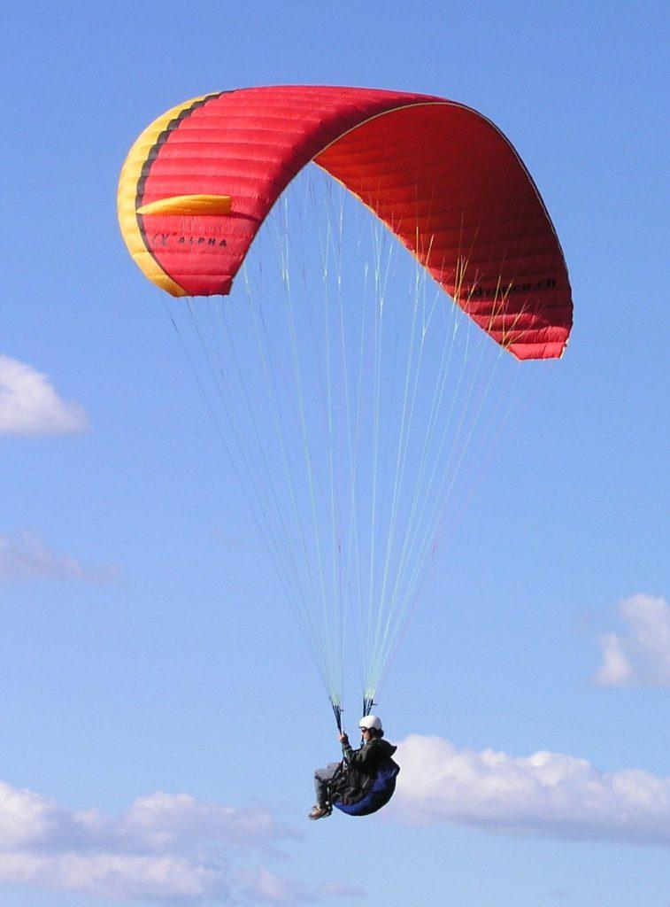 experiencia vuelo en parapente