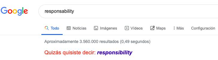 buscador google error inglés